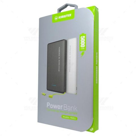 Brindes Power Banks Slim Personalizados.